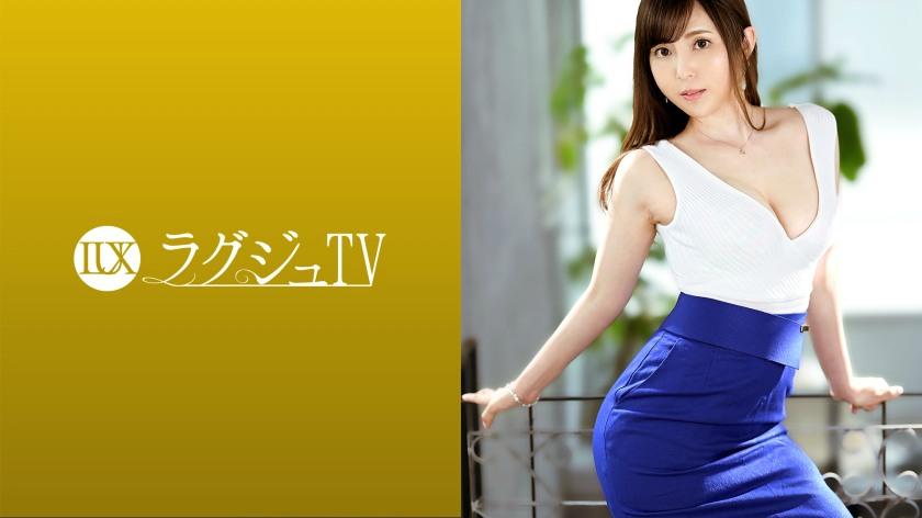 【259LUXU-1464】水原琴音30岁原企业接待小姐-259LUXU系列